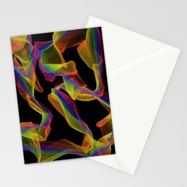 Lacy Ribbons Stationery Cards