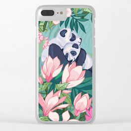 Under the Magnolia Blossom Clear iPhone Case