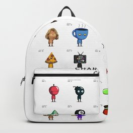 Character-A-Day Challenge Backpack