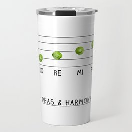 Peas & Harmony Travel Mug