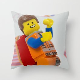 Emmeting is awesome Throw Pillow