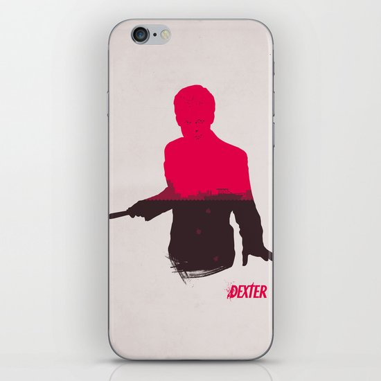 The Dark Passenger iPhone & iPod Skin