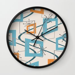 Mid Century Modern Minimalism Wall Clock