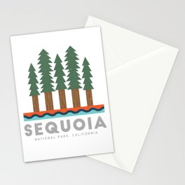 Sequoia National Park California Design for the outdoors lover! Stationery Cards