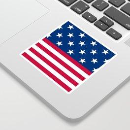 US Flag Sticker