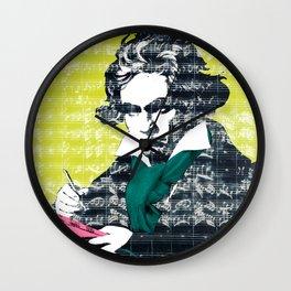 Ludwig van Beethoven 9 Wall Clock