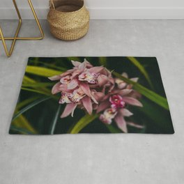 Dusty Pink Orchid Rug