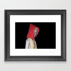 cappuccetto rosso Framed Art Print
