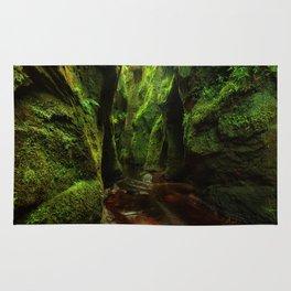 Green Rocks Rug
