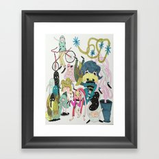Cosmic Fun Framed Art Print