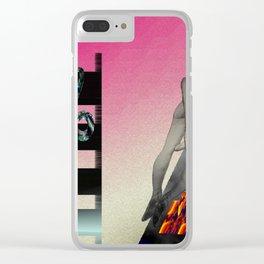 """Board7Seven; """" A Dance Macabre. """" Clear iPhone Case"""