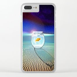 The Tourist Clear iPhone Case