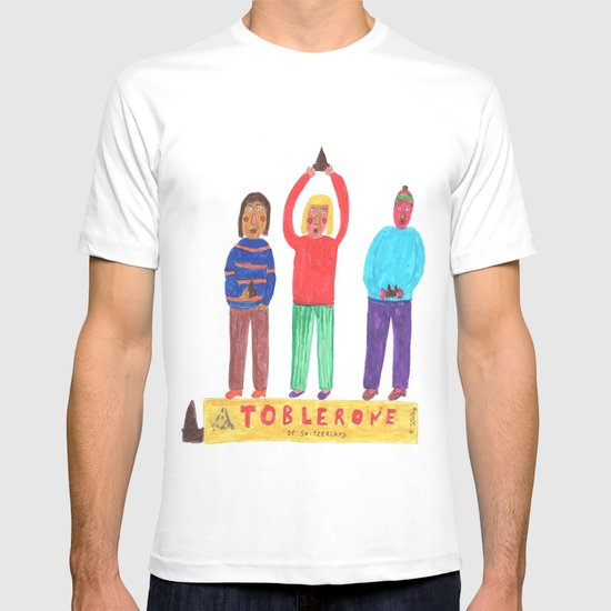 Toblerone. T-shirt