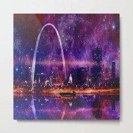 Cosmic St Louis Metal Print