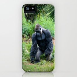 Standing Gorilla iPhone Case