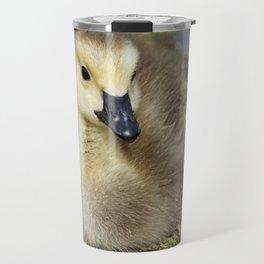 Cute Baby Canada Goose Travel Mug