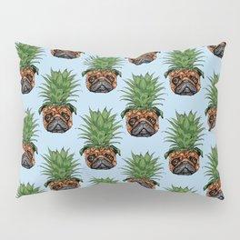 Pineapple Pug Pillow Sham