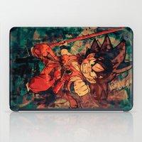 goku iPad Cases featuring Kid Goku by Sirenphotos