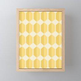 Zola Pattern - Golden Spell Framed Mini Art Print