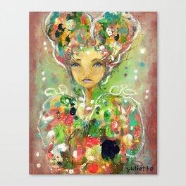 Sacred Alone Canvas Print