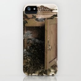 O Son dos recordos(III) - The sound of memories (III) iPhone Case