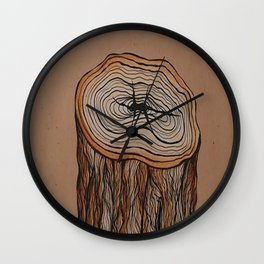 Interruption Wall Clock