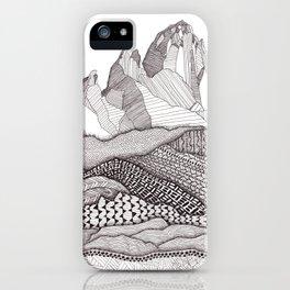Patterns on Patagonia iPhone Case
