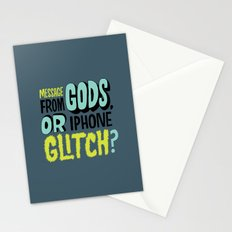 Gods or Glitch? Stationery Cards