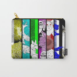 TV Animals in full colors Carry-All Pouch