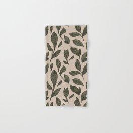 Leaf Pattern Hand & Bath Towel