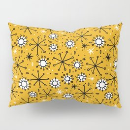 Mid Century mustard Pillow Sham