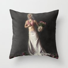 Choices - Fantasy Fine Art Photograph Throw Pillow