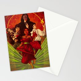 Book Cover Magician's Power Stationery Cards