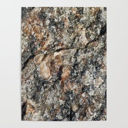 Stone background Poster