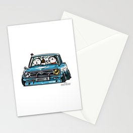 Crazy Car Art 0144 Stationery Cards