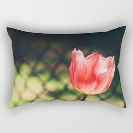 Tilting or leaning Rectangular Pillow
