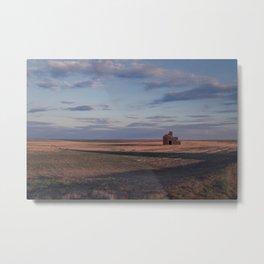 Grain Elevator 21 Metal Print