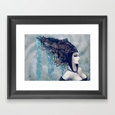 Zodiac Sign: Aquarius Framed Art Print