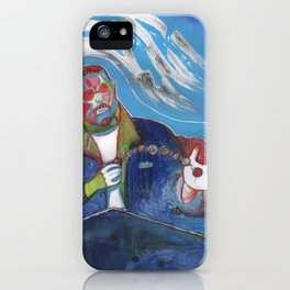 the coin handler iPhone Case