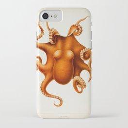 Octopus Cephalopod 1915 iPhone Case