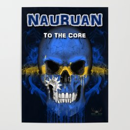 To The Core Collection: Nauru Poster