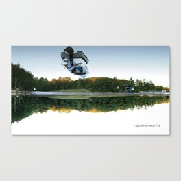 Up in the Air Canvas Print