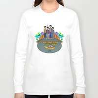 yellow submarine Long Sleeve T-shirts featuring Yellow Submarine by The Beatles Complete On Ukulele