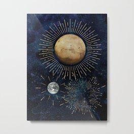Celestial Inspiration Metal Print