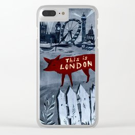 This Is London Clear iPhone Case