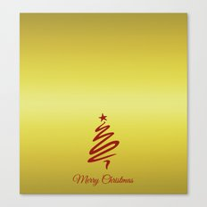 christmas tree Canvas Print