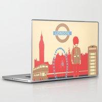london Laptop & iPad Skins featuring LONDON by famenxt
