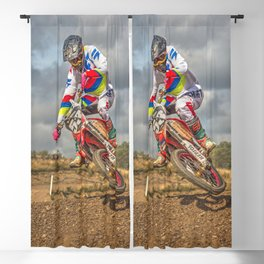 Motocross action sports Blackout Curtain