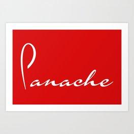 Panache Art Print