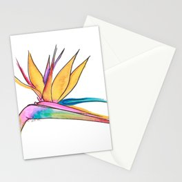 Oiseau du paradis Stationery Cards